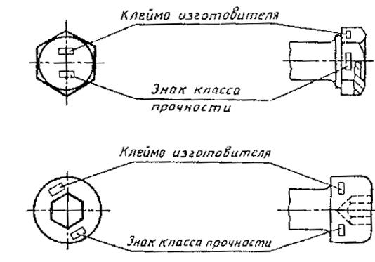 ГОСТ1759.0-87 чертеж 1