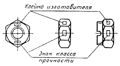 ГОСТ1759.0-87 чертеж 2